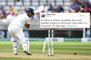 KL Rahul Goes For A Duck, Twitterati Say Pujara 'Much Better Than Him' - WATCH