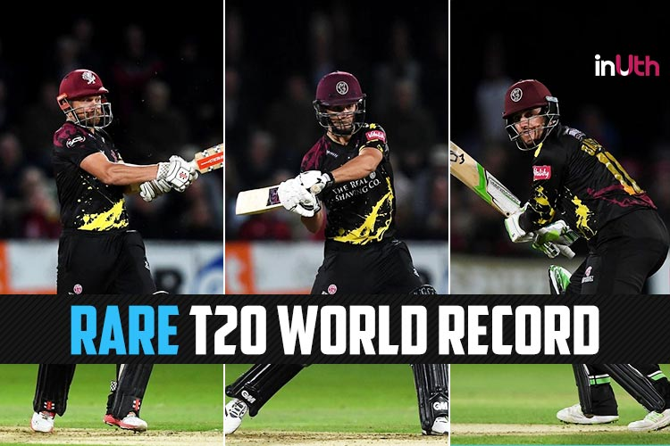 Somerset Achieve Rare Feat, Score Highest T20 Total Ever Without A Batsman Scoring 50 or 100