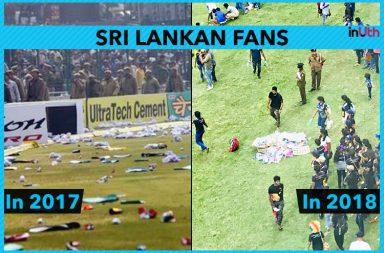 Sri Lanka fans, Sri Lanka fans clean stadium, Sri Lanka spectators clean stadium, Sri Lanka vs South Africa 3rd ODI, South Africa vs Sri Lanka 3rd ODI, SL vs SA, SA vs SL 2018, Pallekele Stadium, Sri Lankan fans throw plastic bottles, South Africa's tour of Sri Lanka 2018