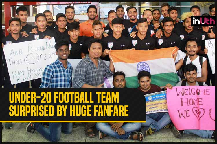 India U-20 Football Team Get Hero's Welcome From Fans After Defeating Argentina