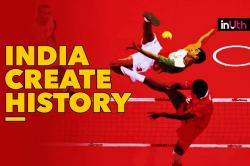 #AsianGames2018: India Create History, Win First Ever Medal In Sepaktakraw