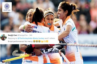 India's Women Hockey Team Beat Kazakhstan 21-0