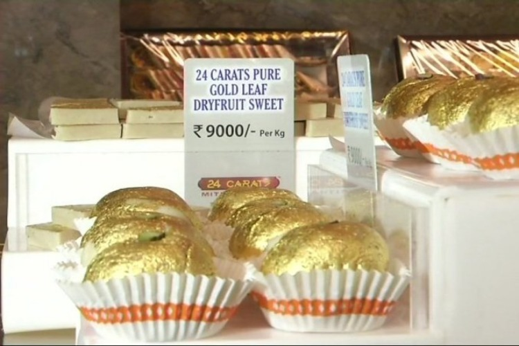 Most Expensive Sweets Ever? This Surat Shop Sells Sweets For Rs 9000/KG