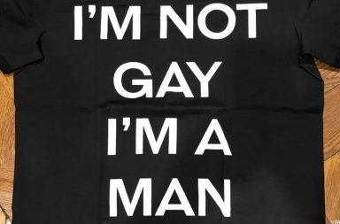 homophobia t shirt