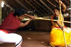Meet Meenakshi Gurukkal, The 75-Year-Old Woman Kalaripayattu Expert