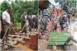 After Road Washes Away In Kerala Floods, Indian Army Builds 40 FeetBridge