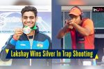 Asian Games 2018: 19-Year-Old Lakshay Sheoran Wins Silver Medal In Trap Shooting