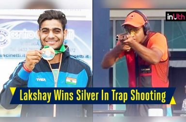 Lakshay Wins Silver In Trap Shooting