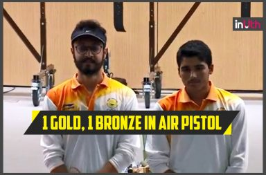 Saurabh Chaudhary Wins Gold, Abhishek Grabs Bronze In Air Pistol; India At No 7 In Medal Tally