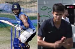 To Help Virat Kohli Counter England's Swing, Arjun Tendulkar Bowls Him In Nets
