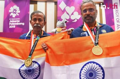India Bridge Players, IOA, Asian Games 2018, Asian Games 2018 Bridge winners, Asian Games 2018 Pranab Bardhan, Asian Games 2018 Shibhnath De Sarkar, Debasish Ray Bridge, India Bridge gold medallist