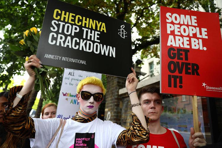 Chechnya, Homosexuality
