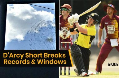 D'Arcy Short, D'Arcy Short 23 sixes, D'Arcy Short 257, D'Arcy Short double hundred, DArcy Short One-Day record, D'Arcy Short double hundred records, Western Australia vs Queensland, JLT One Day Cup 2018, Queensland vs Western Australia 2018, D'Arcy Short 200 records, Most sixes in an innings, Highest strike rate in 200, List A records, Most runs by a batsman in List A match