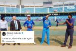 Tweeps Go Crazy As 'Captain Cool' MS Dhoni Shows Up At Toss Instead Of Rohit Sharma