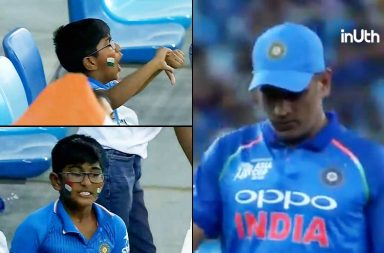 MS Dhoni fan, MS Dhoni angry fan, MS Dhoni young fan reaction, MS Dhoni duck, MS Dhoni Asia Cup 2018 duck, MS Dhoni ODI duck, India vs Hong Kong, Hong Kong vs India, IND v HK, Asia Cup 2018, Ehsan Khan MS Dhoni