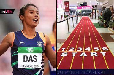 Hima Das, Hima Das Guwahati, Hima Das Asian Games 2018, Hima Das gold medal, Hima Das Guwahati Airport, Hima Das welcome, HIma Das U20 World Championships 2018