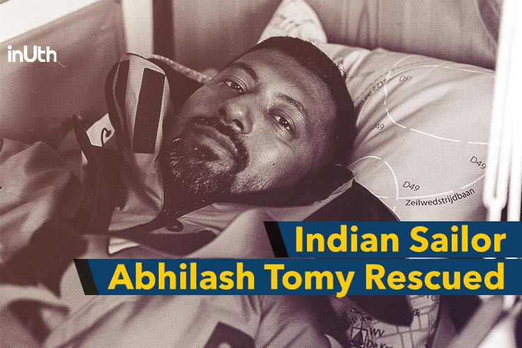 Stranded For 3 Days, Indian Sailor Abhilash Tomy Finally Gets Rescued