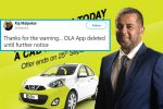 Ola Offered Customers A Ride With Chetan Bhagat, Internet SwipesLeft