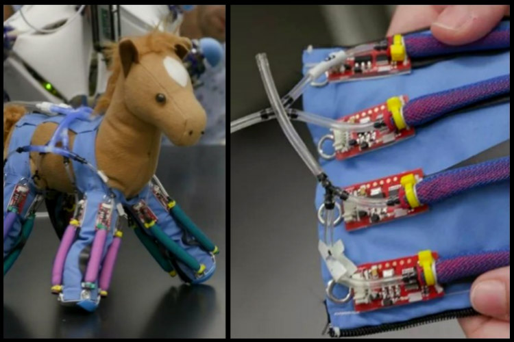 This Robotic Skin Can Even Turn Your Stuffed Toys Into Robots