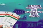 No Linking With Banks, Phones: How The SC Verdict On Aadhaar Affects You