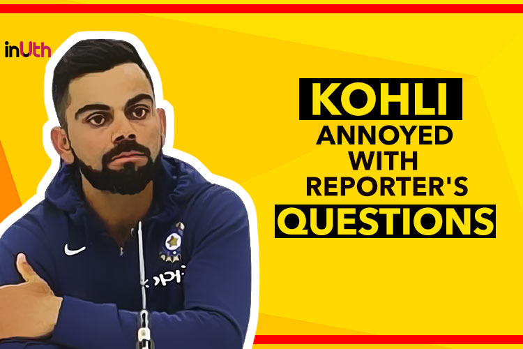 Virat Kohli press conference, Virat Kohli England press conference, Virat Kohli lashes out at journalist, Virat Kohli lashes out at reporter, Virat Kohli angry, India vs England fifth Test, England vs India 2018, IND v ENG 2018, ENG v IND 2018, Kennington Oval, London