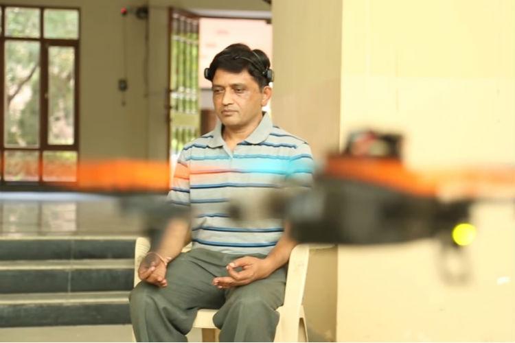 iisc bangalore drone