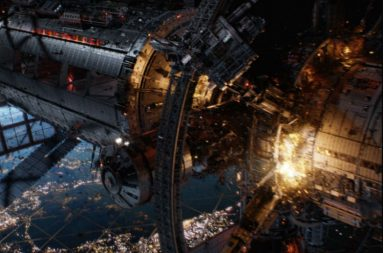 international space station destruction