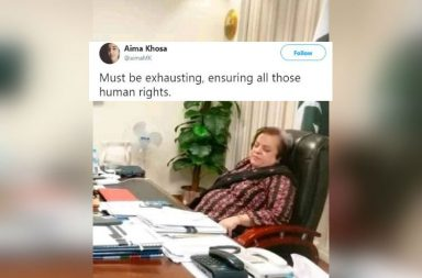 shireen mazari blur