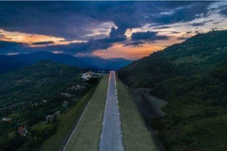 Sikkim Finally Has An Airport & The View Is Stunning!