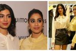 Khushi Kapoor & Jahnvi Kapoor's Louis Vuitton Outfits Prove That They Are ChicestDressers