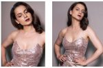 Kangana Ranaut Wore A Blingy Slip Dress, And We've Found Our New FavouriteLook