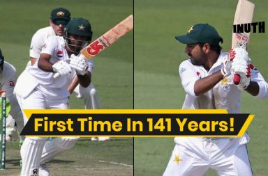 Fakhar Zaman 94, Sarfraz Ahmed 94, Fakhar Zaman debut, Australia vs Pakistan 2nd Test, Pakistan vs Australia 2nd Test, PAK v AUS 2018, AUS v PAK 2018, Pakistan's tour of Australia 2018, 2 Batsmen out on 94, Test cricket strange records, Test cricket bizarre records