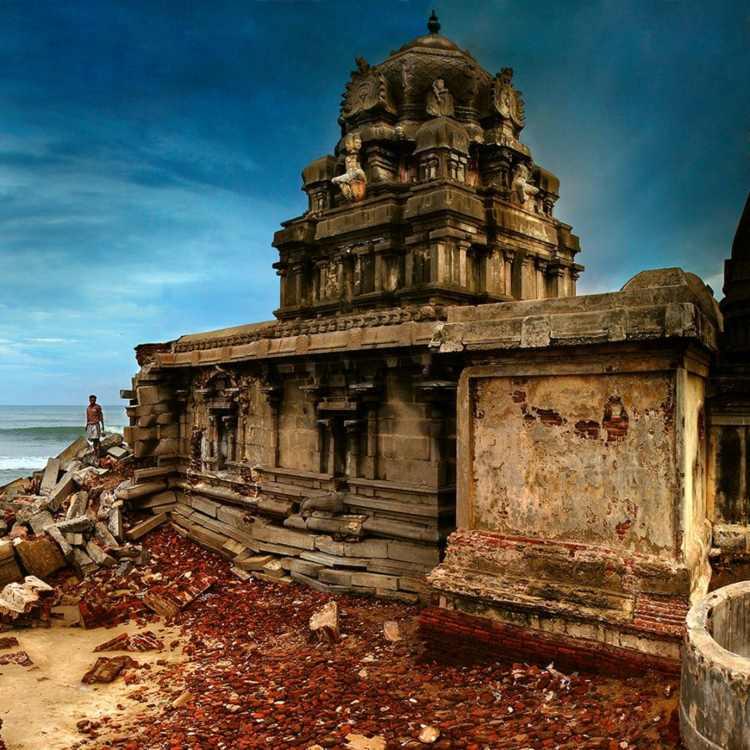 Masilamani Nathar Temple, Tarangambadi, Tamil Nadu