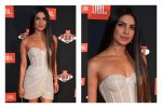 Priyanka Chopra's Little Silver Dress Is Perfect For A Night Out WithFriends