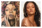 This Rihanna Superfan Uses Beauty Products To Make The Pop Singer's Portraits