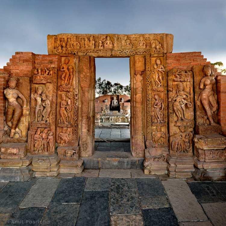 Teewardeo Buddhist Vihara, Sirpur, Chhattisgarh