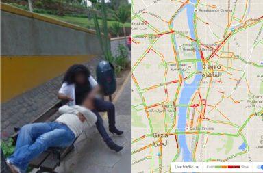 google maps bizarre