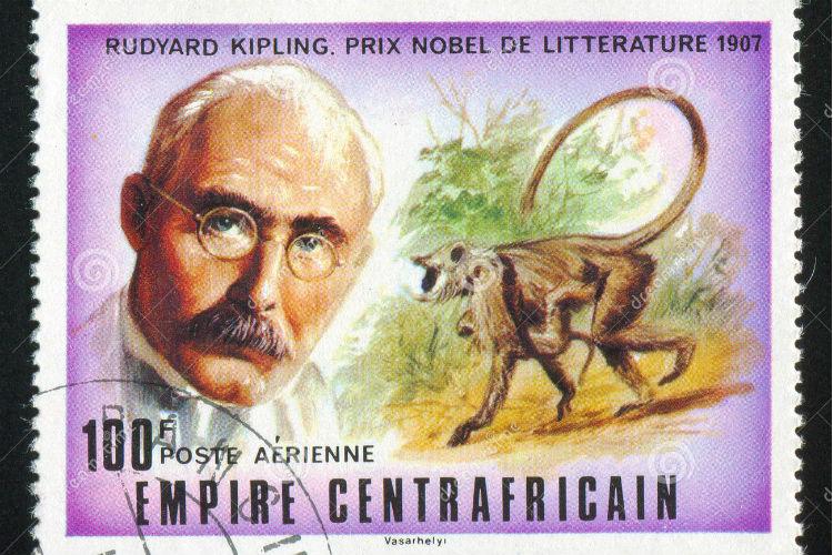 rudyard kipling stamp