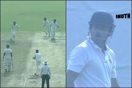 Gautam Gambhir, Gautam Gambhir angry, Gautam Gambhir umpire, Gautam Gambhir loses cool, Gautam Gambhir Delhi, Delhi vs Haryana Ranji Trophy, Ranji Trophy 2018, Mayank Dagar, Umpiring blunders