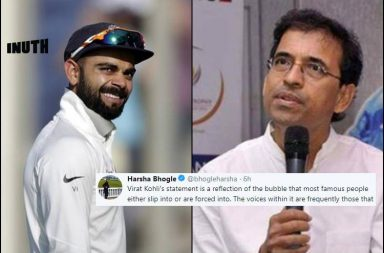 Virat Kohli, Harsha Bhogle, Bhogle-Kohli, Harsha Bhogle criticises Kohli, Kohli snaps at troll, Kohli angry at fan, Virat Kohli fan, Virat Kohli bashes fan