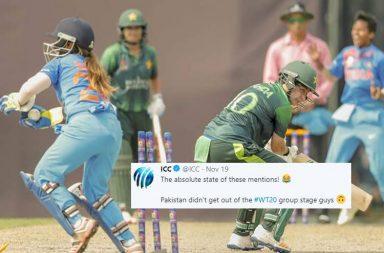 Women's World T20 2018, ICC trolls Pakistan, ICC funny, India vs Pakistan, Pakistan vs India, Women's World T20 final, Pakistan fans trolled