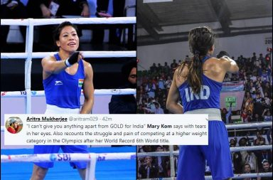 Mary Kom, Mary Kom world record, Mary Kom Boxing record, Boxing World Championships 2018, Mary Kom 6th gold, Mary Kom World Championships medal, Feliz Savon, Hanna Okhota vs Mary Kom, Mary Kom emotional