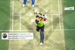 Glenn Maxwell's Hitting Skills Were So On Point That He Found The Spider Cam With Perfection
