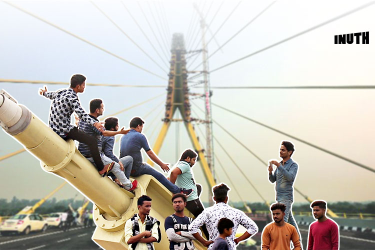 We Spent A Day At Delhi's 'Selfie Bridge'