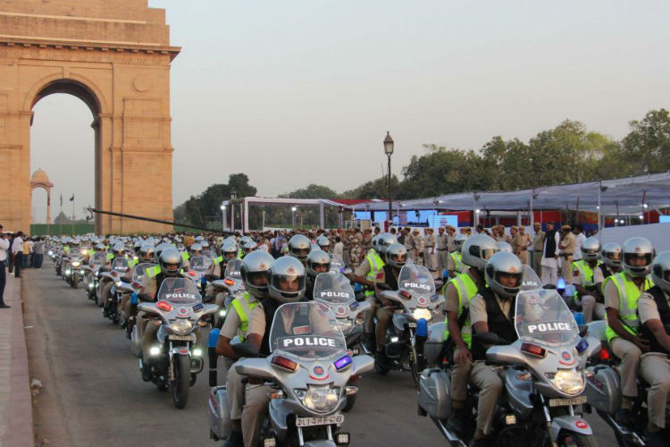 Delhi Police Gets 300 Modified Patrol Bikes To Curb Street Crime