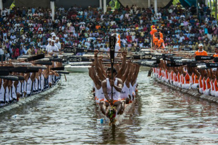 Despite Floods, 81 Teams Participate In Kerala's Annual Boat Race