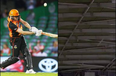 Ashton Turner, Ashton Turner hits roof, BBL 2018-19, BBL new rules, Perth Scorchers vs Melbourne Renegades, Melbourne Renegades vs Perth Scorchers, Ashton Turner six, T20 new rules, Ashton Turner controversy, Big Bash League 2018-19