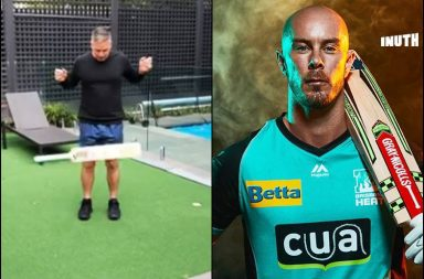 Bat flip toss, Big Bash League 2018-19, BBL 2018-19, Chris Lynn bat flip, Brisbane Heat vs Adelaide Strikers BBL 2019, First ever bat flip toss, Kim McConnie, Brad Hodge bat flip toss, Bat flip toss rules