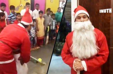 Sachin Tendulkar, Sachin Tendulkar Secret Santa, Sachin Tendulkar underprivileged kids, Christmas, Ashray Child Care Centre, Sachin Tendulkar charity