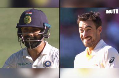 Virat Kohli, Mitchell Starc, Kohli-Starc, Mitchell Starc bouncer, Virat Kohli funny, Mitchell Starc funny, Tim Paine, India's tour of Australia 2018, IND v AUS, AUS v IND, Boxing Day Test, MCG, Australia vs India 3rd Test live